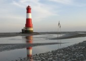 Der Leuchtturm von Arngast Foto: Gerke Ennen