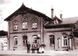Früherer Bahnhof Ohmstede (Bild: alt-Oldenburg.de)