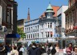 Die Lange Straße in Delmenhorst