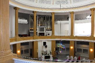 Rotunde der Lamberti-Kirche (Foto: Helmuth Meinken)
